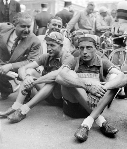 Джино Бартали. Легенды Джиро д'Италия