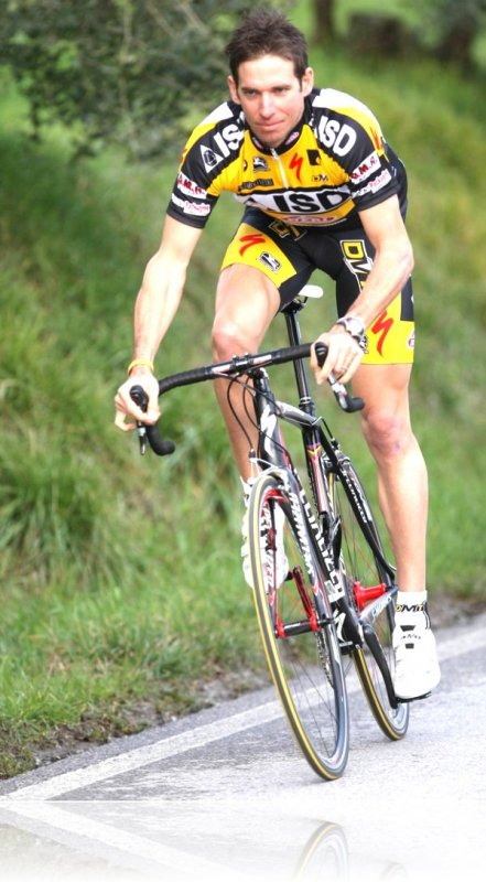 Дарио Давид Чиони - велосипедист-земледелец