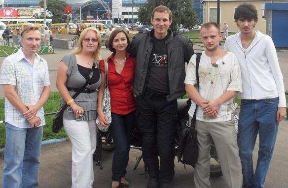 Встреча с участниками форума Eurosport, Москва, август 2009