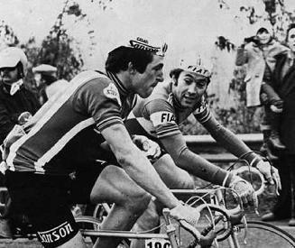 Франческо Мозер и Эдди Меркс