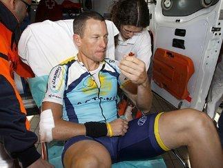 Армстронг после падения