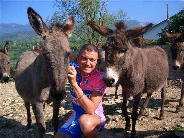 Марцио Брузегин и его любимое стадо