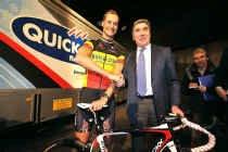 Боонен и Меркс на презентации 2010