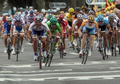 Финиш 5-го этапа Тур де Франс 2009