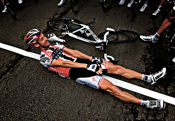 Падение на Тур де Франс 2009