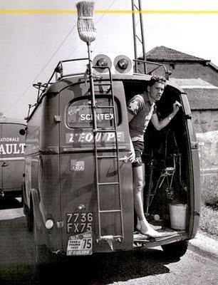 Машина-«метла» - 100 лет в пелотоне