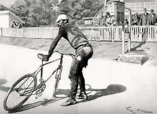 Финиш Париж-Брест-Париж 1901 года