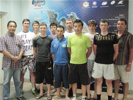 Национальная сборная Казахстана, 2010 год