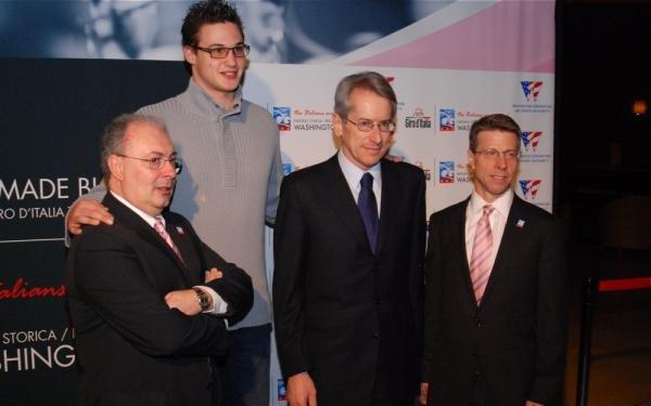 Зоменьян, Данило Галиньяри, посол Италии и Марк Соммерс