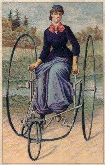 Удивительные страницы истории женского велоспорта
