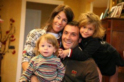 Семья Бассо: Сантьяго, Микаэла, Иван и Домитилла