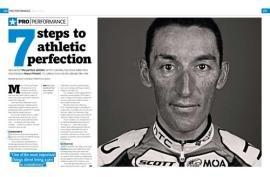 Марко Пинотти: шаги к спортивному совершенству Cycle Sport, Aprile 2010