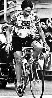 Победа Франческо Мозера в 1984 году