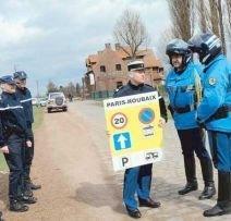 Усиление охраны порядка на Париж-Рубэ
