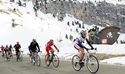 В горах на Джиро дель Трентино