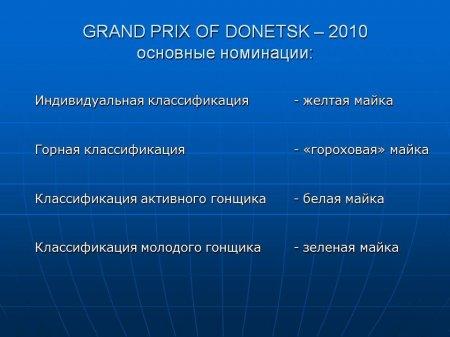 Гран-При Донецка-2010