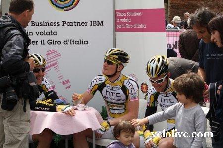Джиро д'Италия-2010: приключения велолайвочек. День второй и день третий