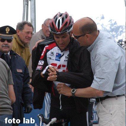 Бассо на Стельвио (Джиро 2005)