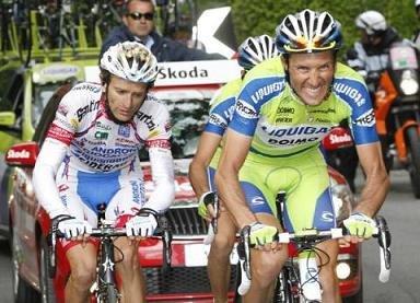 Бассо на Джиро 2010