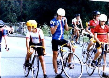 Джордж Хинкепи на юношеских гонках