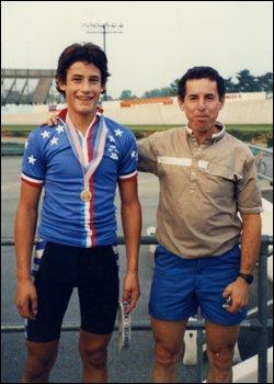 16-летний Хинкепи с отцом Рикардо