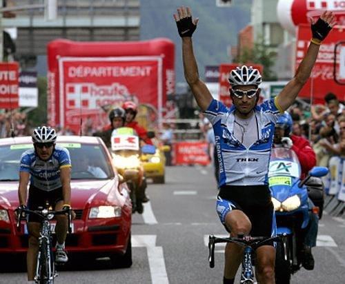 Победа Хинкепи на последнем этапе Дофине Либере 2005