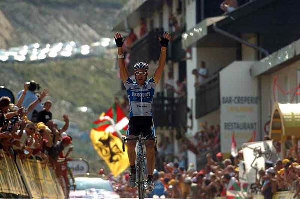 Победа Хинкепи на этапе ТдФ 2005