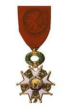 L'Ordre National de la Légion d'Honneur