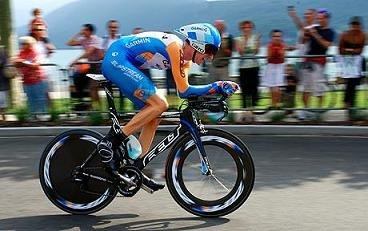 Bradley Wiggins competing in the 2009 Tour de France Photo: Rex Features
