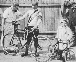 Морис Гарин, победитель первого Тур де Франс