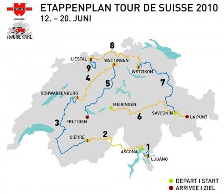 Тур Швейцарии-2010: превью