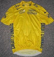 жёлтая майка лидера Тур де Франс