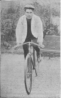 Первый подиум в истории Тур де Франс: Люсьен Потье