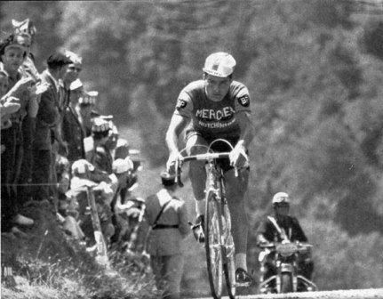 Пулидор на 14-м этапе Тур де Франс 1962