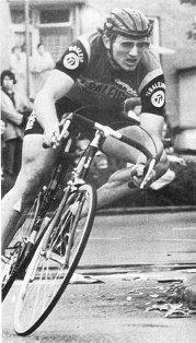 Ян Раас на прологе Тура 1978