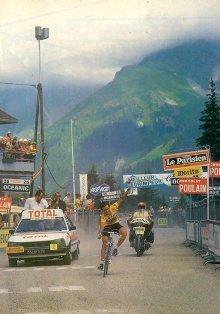 Бернар Ино на 18-м этапе