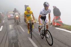 Шлек и Контадор на 17-м этапе Тур де Франс