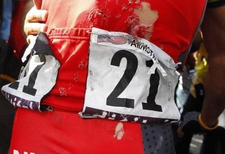 Армстронг после этапа Morzine-Avoriaz