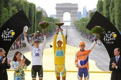 Призеры Тур де Франс 2010