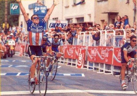 Первая победа Лэнса Армстрогра на Тур де Франс