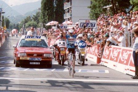 Пётр Угрюмов, победа на 18-м этапе ТдФ 1994