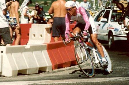Ян Ульрих на 20-м этапе Тур де Франс 1996
