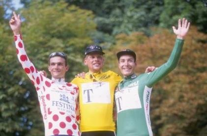 Подиум Тур де Франс 1997