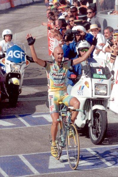 Марко Пантани Тур де Франс 1998
