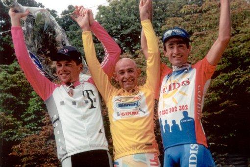 Подиум Тур де Франс 1998