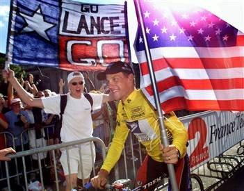 Лэнс Армстронг, первая победа на Тур де Франс
