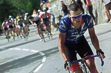 Атака Армстронга на Альп д Юэз