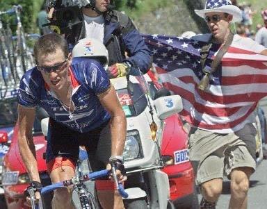 Атака Армстронга на 13-м этапе ТдФ 2000