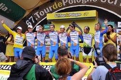 Garmin празднует победу на Туре Польши