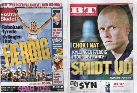 Исключение Расмуссена с Тур де Франс 2007